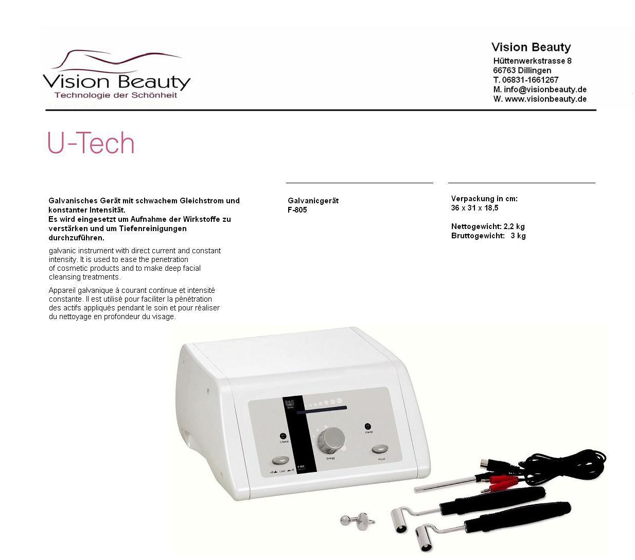 galvanicger t kosmetik tiefenreinigung beautybehandlung gleichstrom ebay. Black Bedroom Furniture Sets. Home Design Ideas
